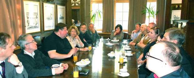 Oslo – spotkanie z p. Piotrem Semke