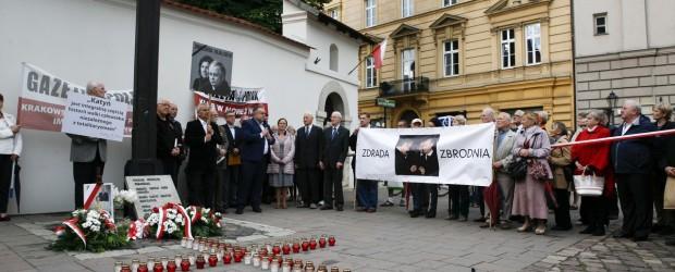Kraków: 86 miesięcznica tragedii smoleńskiej