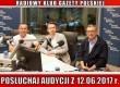 """POSŁUCHAJ AUDYCJI: """"Radiowy Klub Gazety Polskiej"""" – 12.06.2017 r. (audio)"""