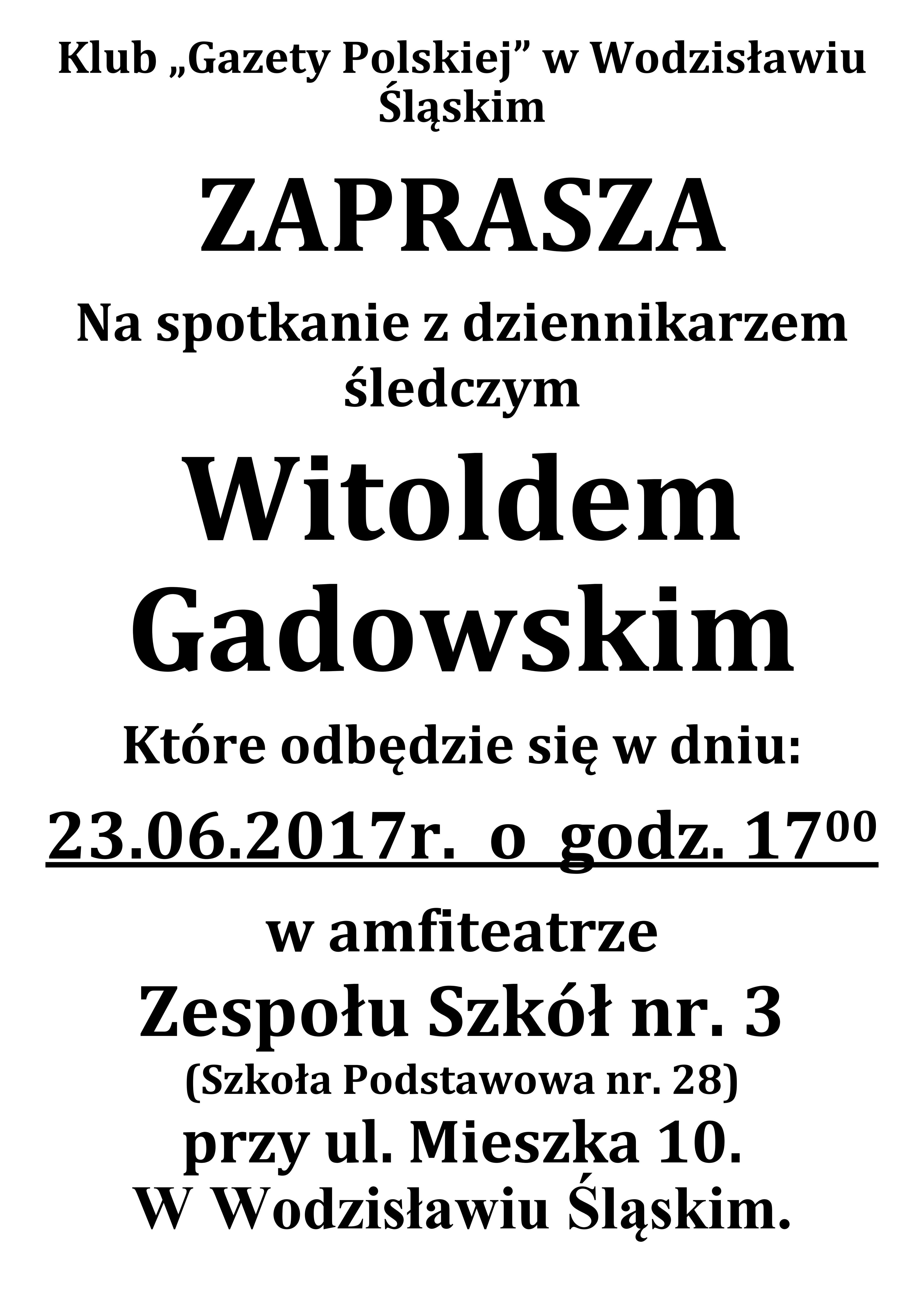 Wodzislaw Sl Gadowski2017