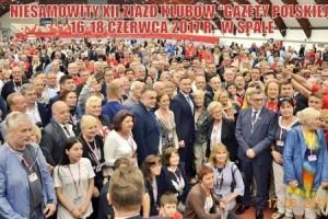 """[FOTOGALERIA + WIDEO] XII Zjazd Klubów """"Gazety Polskiej"""" – Spała 2017 r. (DUŻO ZDJĘĆ)"""