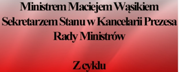 Ostrowiec św. – spotkanie z Ministrem Maciejem Wąsikiem, 15 lipca