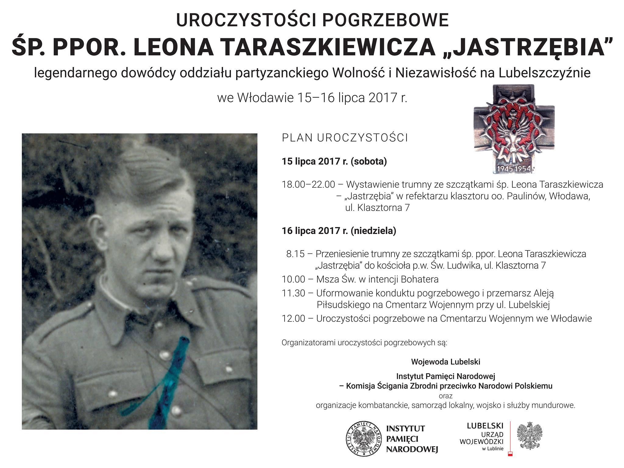 Wlodawa pogrzeb 2017