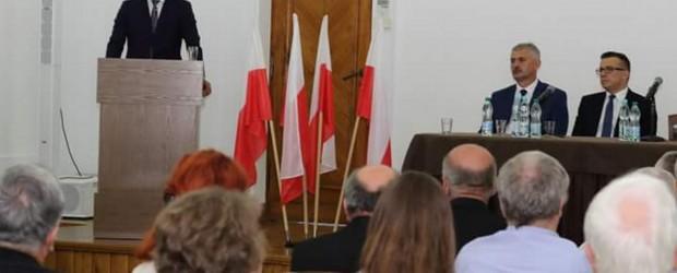 Zamojski klub GP zorganizował spotkanie z europosłem Mirosławem Piotrowskim