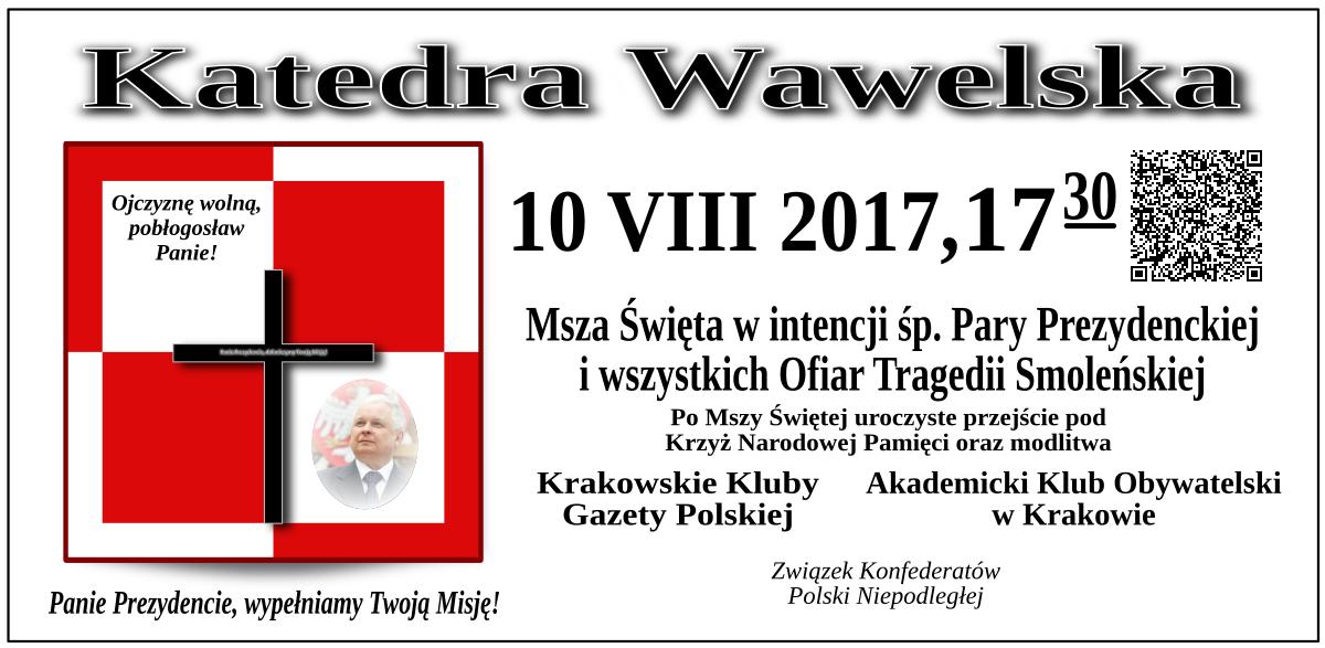 krakow 10 sierpnia 2017