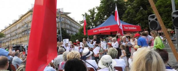 Szczecin: 73- rocznica Powstania Warszawskiego