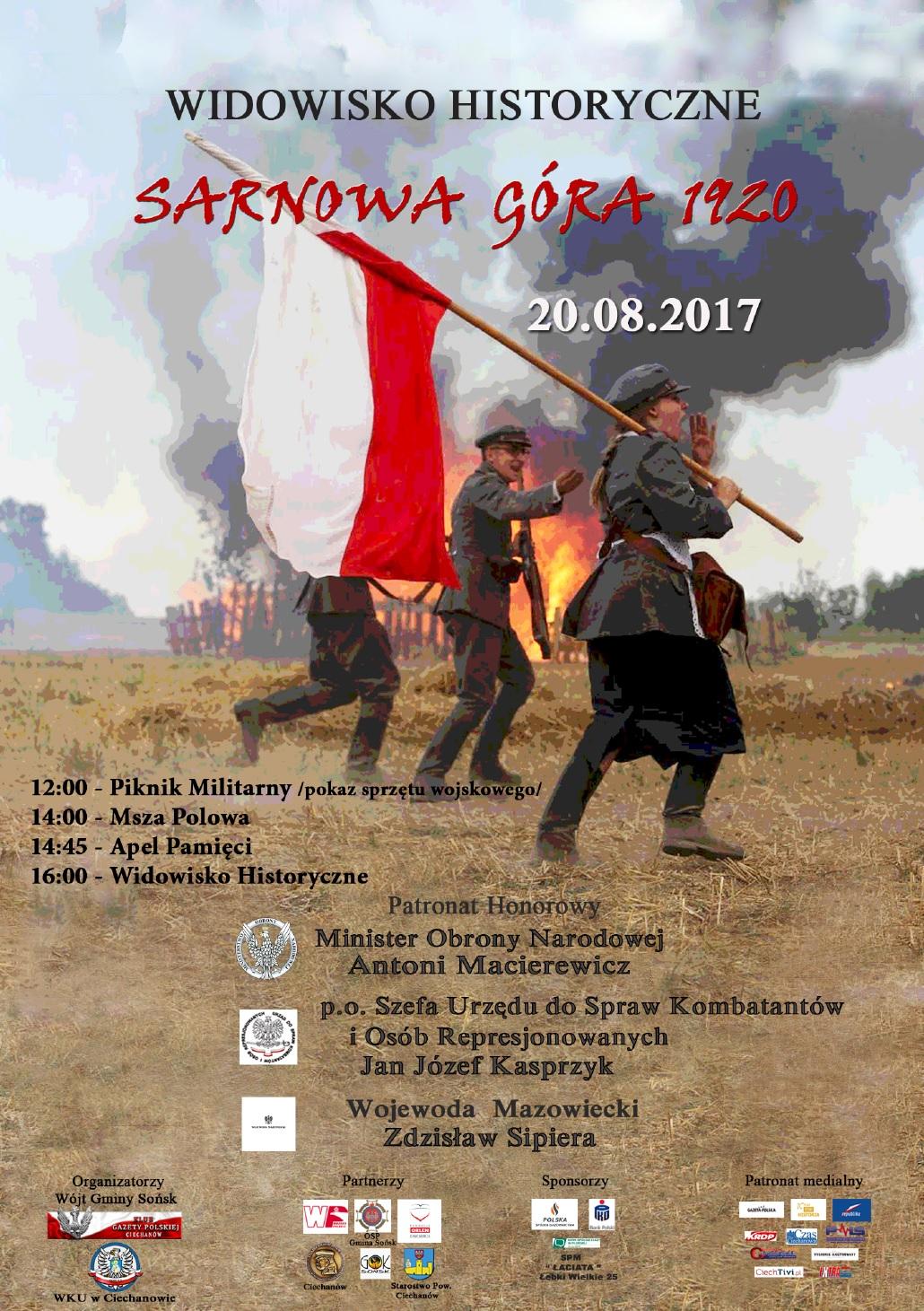 Ciechanow Sarnowa Gora 2017