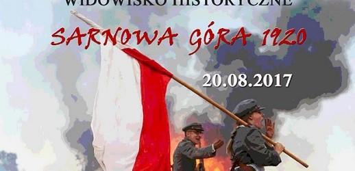 Sarnowa Góra –  obchody 97 rocznicy bitwy pod Sarnową Górą, 20 sierpnia,