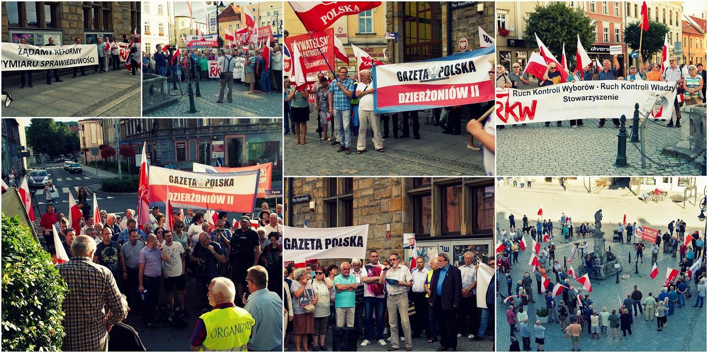 Dzierzoniow protest
