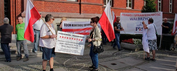 """""""Polska zmienia się na lepsze!""""  Wiec poparcia dla rządu Prawa i Sprawiedliwości w Świdnicy – 17.08.2017."""