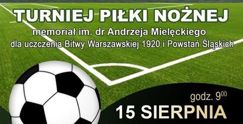 Katowice: II Memoriał dr. Andrzeja Mielęckiego, 15 sierpnia