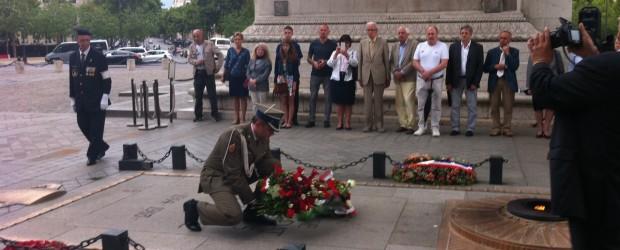 Paryż: uroczystości z okazji dnia Święta Wojska Polskiego