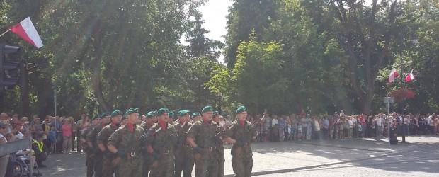 Suwałki: Obchodach Dnia Wojska Polskiego