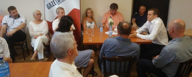 Tychy: spotkanie z Ministrem Sportu i Turystyki Witoldem Bańką