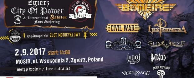 Zgierz City Of Power 2017, 2 września