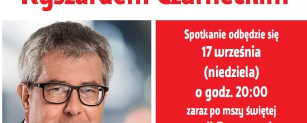 Chicago-Illinois – spotkanie z Ryszardem Czarneckim, posłem PiS, wiceprzewodniczącym PE, 17 września,