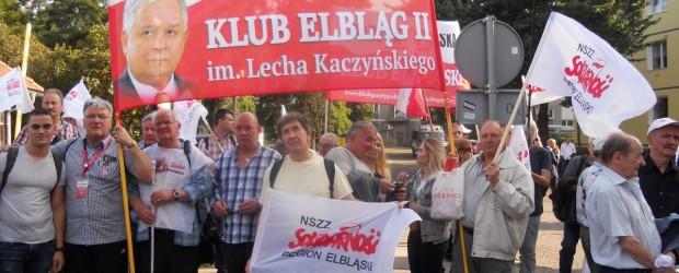 """Klub """"GP"""" Elbląg II uczestniczył 31 sierpnia w Gdańsku"""