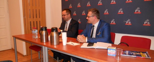 Elbląg II: spotkanie z posłem RP panem Marcinem Horałą