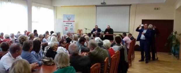 Świetna frekwencja na spotkaniu z Tomaszem Sakiewiczem w Gdańsku