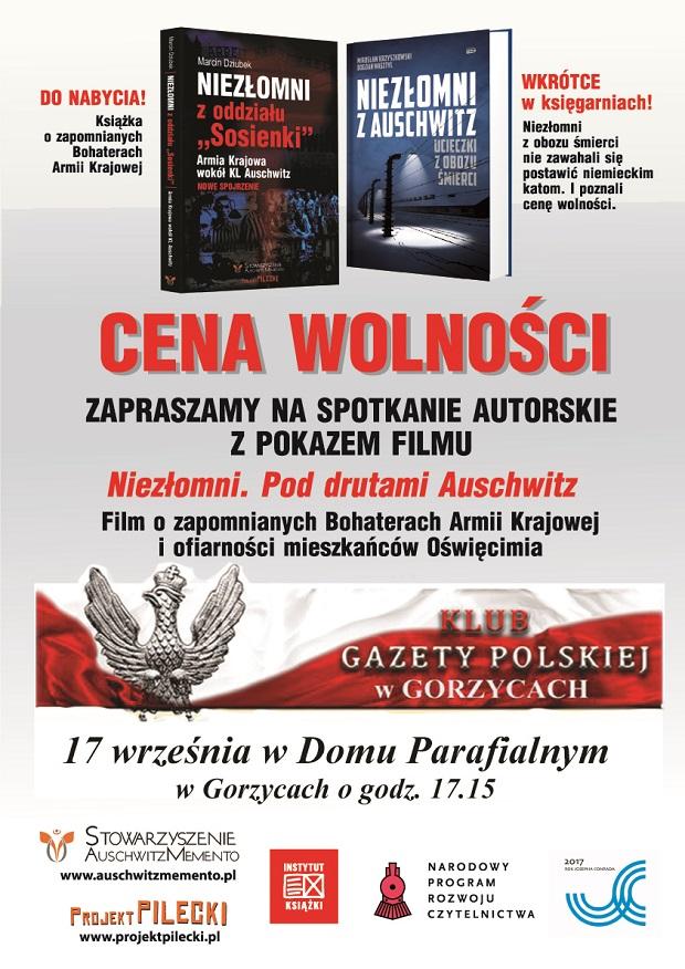 Gorzyce CENA_WOLNOSCI 2017
