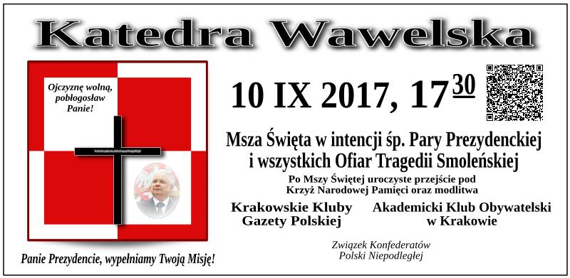 Krakow - 10 wrzesnia 2017