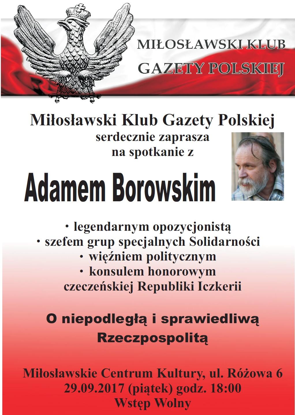 Miloslaw Borowski2017