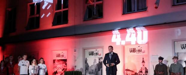 Wieluń: obchody 78. rocznicy wybuchu II wojny światowej i zbombardowania tego miasta.
