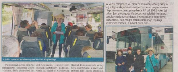 Narodowe czytanie w Tczewie