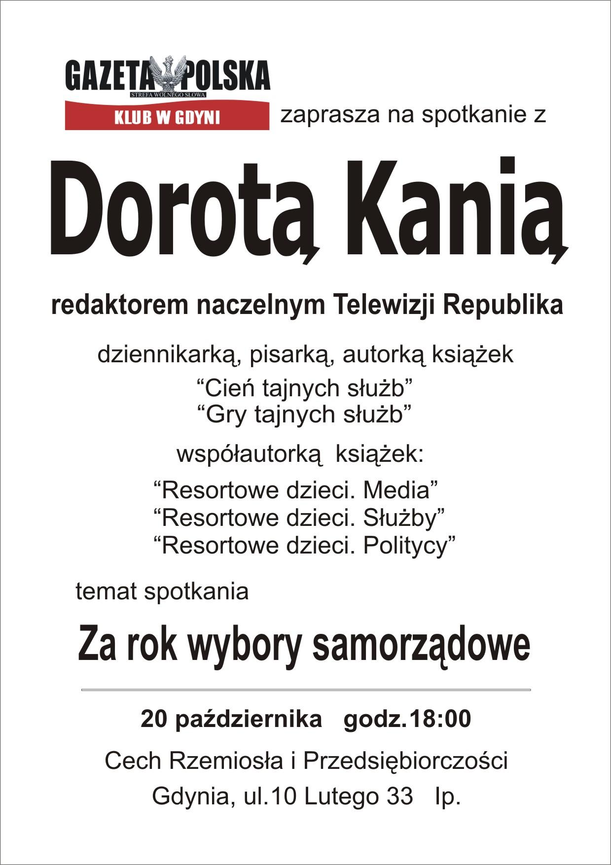 Gdynia - Dorota Kania