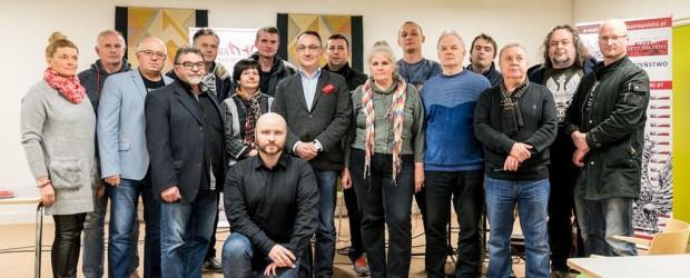 Red. Adrian Stankowski oraz Paweł Piekarczyk na spotkaniu w Aarhus