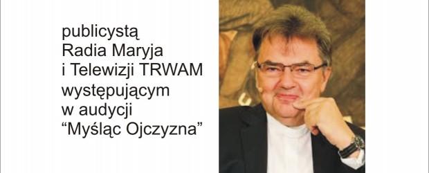 """Gdynia – spotkanie  ks. prof. Pawłem Bortkiewiczem, """"Uchodźcy w Europie-sprawdzian dla roztropności"""", 30 listopada"""