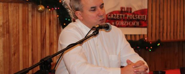 Gorzyce – spotkanie z dziennikarzem śledczym Wojciechem Sumlińskim, 6 grudnia, g. 16.30 w Domu Parafialnym w Gorzycach k/Sandomierza, ul. Piłsudskiego 29.