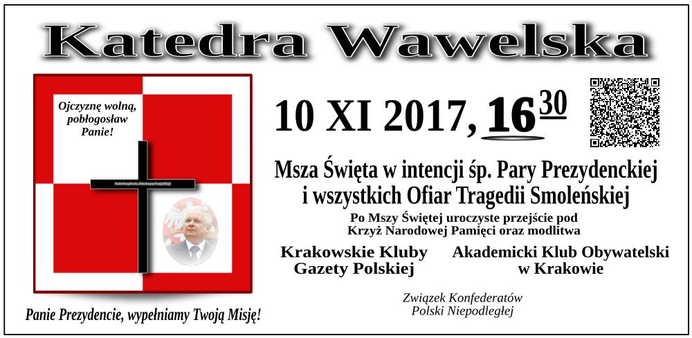 Krakow - 10 listopada 2017