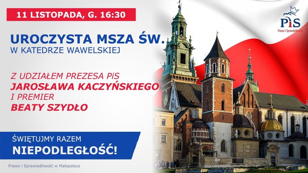 Krakow 11 listopada 2017 Pis