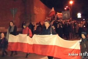 91 Miesięcznica – goście z Węgier przy Katyńskim Krzyżu (wideo)