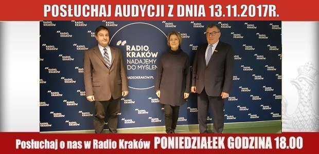 """POSŁUCHAJ AUDYCJI: """"Radiowy Klub Gazety Polskiej"""" – 13.11.2017 r.(audio)"""
