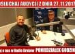 """POSŁUCHAJ AUDYCJI: """"Radiowy Klub Gazety Polskiej"""" – 27.11.2017 r.(audio)"""