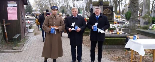 Skierniewice: kwesta na rzecz odnowienia  zabytkowego cmentarza św. Stanisława
