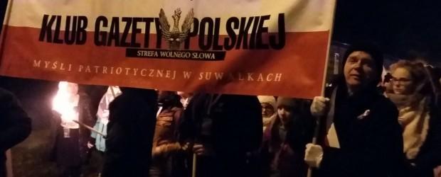 11.11.2017 r. – Marsz Niepodległości w Suwałkach