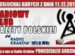 """POSŁUCHAJ AUDYCJI: """"Radiowy Klub Gazety Polskiej"""" – 11.12.2017 r.(audio)"""
