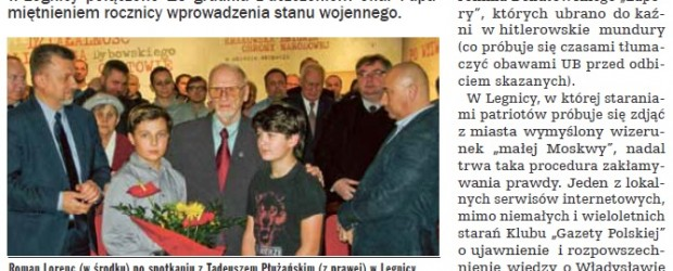 """Legnica: Patrioci nie chcą """"małej Moskwy"""""""