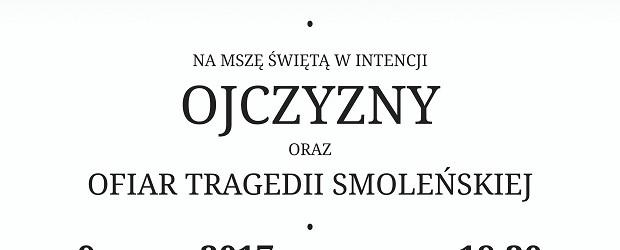 Krosno – Msza św. w intencji Ojczyzny oraz Ofiar tragedii smoleńskiej, 9 grudnia