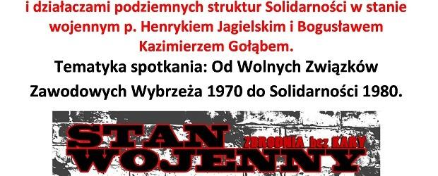 Lębork  – spotkanie ze współorganizatorami Komitetu Strajkowego współzałożyciela, 10 grudnia