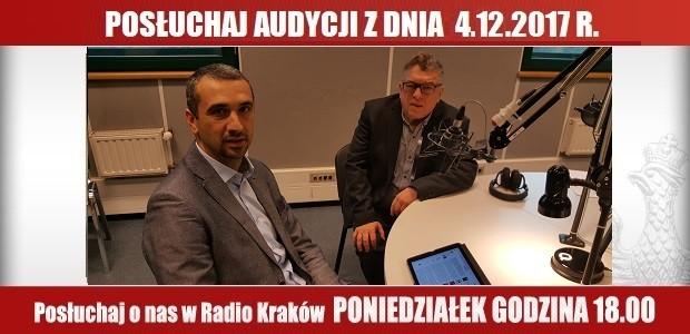 """POSŁUCHAJ AUDYCJI: """"Radiowy Klub Gazety Polskiej"""" – 04.12.2017 r.(audio)"""