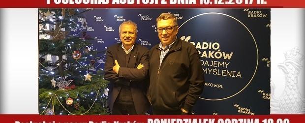"""POSŁUCHAJ AUDYCJI: """"Radiowy Klub Gazety Polskiej"""" – 18.12.2017 r.(audio)"""
