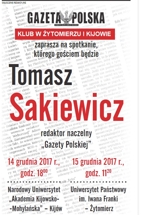 Zytomierz Kijow Sakiewicz2017