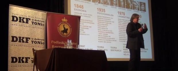 Krzysztof Karoń: historia marksizmu, czyli kto niszczy naszą cywilizację? Wykład w Białymstoku (wideo)