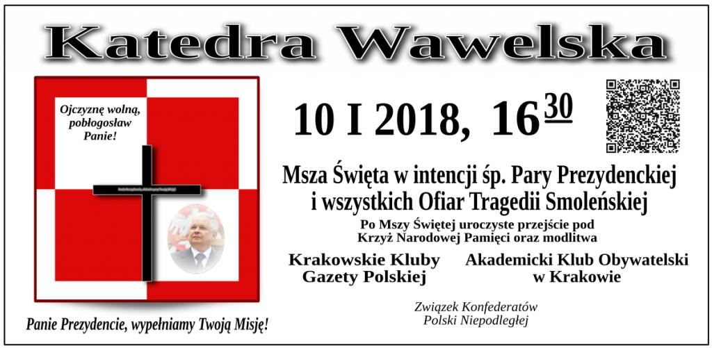 Krakow - 10 stycznia 2018