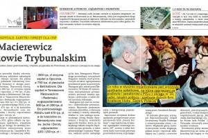 Spotkanie opłatkowe z Antonim Macierewiczem w Piotrkowie Trybunalskim (wideo)