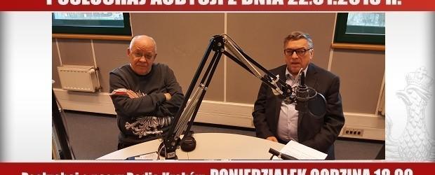 """POSŁUCHAJ AUDYCJI: """"Radiowy Klub Gazety Polskiej"""" – 22.01.2018 r.(audio)"""